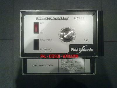 FLAKT WOODS 12 AMP ME 1.12 FAN SPEED CONTROLLER WOODS/ELTA/VENT-AXIA/HELIOS/S&P