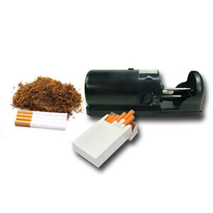 BLACK-CIGARETTE-TOBACCO-ELECTRIC-ROLLING-ROLLER-TUBE-INJECTOR-MACHINE