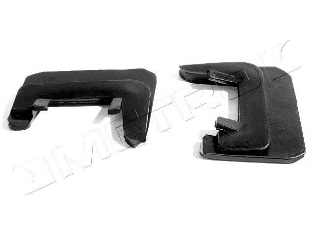 1964-1967 Pontiac GTO, LeMans, Tempest convertible top side panel rear seals, pr
