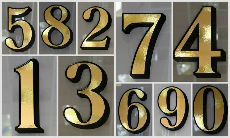 Hoja De oro oro oro fanlight   eje de popa Casa números para victoriano puerta frontal fanlights 8dbe6c