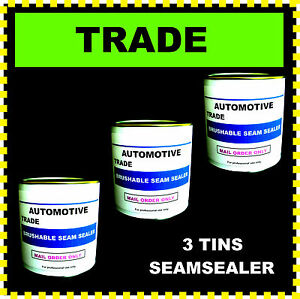 SEALER-TRADE-BRUSHABLE-CAR-BODY-SEAM-SEALER-SMOOTH-EASY-TO-APPLY-3-X-1KG-TINS