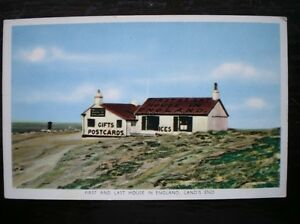 POSTCARD CORNWALL SCILLY ISLES LAND039S END  THE 1ST amp LAST HOUSE IN ENGLAND - Tadley, United Kingdom - POSTCARD CORNWALL SCILLY ISLES LAND039S END  THE 1ST amp LAST HOUSE IN ENGLAND - Tadley, United Kingdom