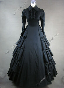 Victorian-Gothic-Lolita-Cosplay-Dress-Ball-Gown-007-L