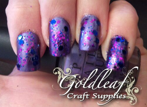 """Nail glitter party mix /""""Mirrorball/"""" style paillettes 40G Sac-disco inferno mix"""