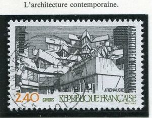 STAMP-TIMBRE-FRANCE-OBLITERE-N-2365-ARCHITECTURE-GIVORS