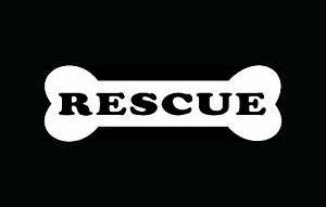I Love My Bull Terrier Dog Rescue Adopt Car Window Decal ...  |Rescue Window Decals