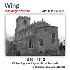 Buckinghamshire-Wing-Parish-Registers-1546-1812-Parish-Records