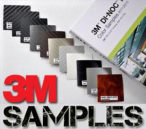 3M-Di-Noc-Carbon-Fibre-Vinyl-Sample-10-Pieces-5cm-x-5cm