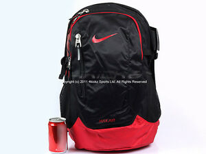 Nike-Misc-Male-Team-Training-XL-Backpack-Book-Bag-Black-Red-BA4317-060