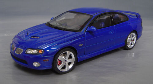 Gmp Acme 1 18 2006 Pontiac Gto Impulse Blue Ibm New