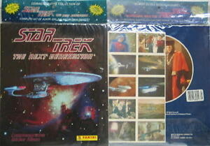 Star-Trek-Next-Generation-Panini-Sticker-Set-amp-Album