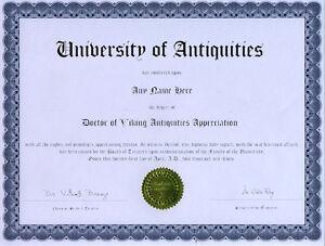 Doctor-Viking-Antiquities-Novelty-Diploma-Bronze-Ring