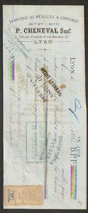 LYON-69-USINE-de-FILETS-RESILLES-amp-COIFFURES-034-P-CHENEVAL-034-1883