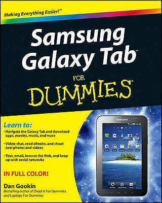 Samsung Galaxy Tab For Dummies by Gookin, Dan