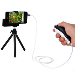 Mini-Tripod-Holder-Shutter-Cable-for-iPhone-5-4-4S-3-3GS-Digital-Camera-Webcam
