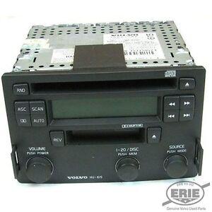 volvo oem hu 615 stock radio w cd cass fits s40 v40 2001. Black Bedroom Furniture Sets. Home Design Ideas