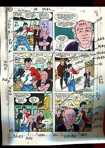 MISTER MIRACLE 11 PAGE 06 COLOR GUIDE-ORIGINAL ART-1 OF A KIND-WEIN-PHILLIPS
