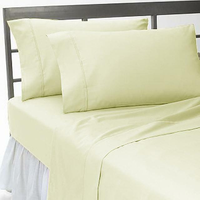 Home Bedding Collection 1200 Thread Count Egyptian Cotton Select Item-Ivory