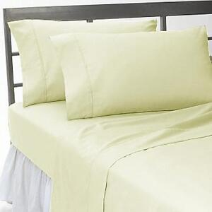 Home-Bedding-Collection-1200-Thread-Count-Egyptian-Cotton-Select-Item-Ivory