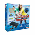 Sony Playstation 3 Super Slim Sports Champions 2 & Move Starter Pack 500GB Charcoal Black Spielekonsole (PAL)