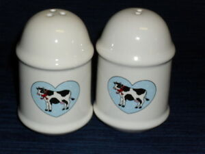 3-75-Stoneware-COUNTRY-COWS-Salt-Pepper-Shakers-Set
