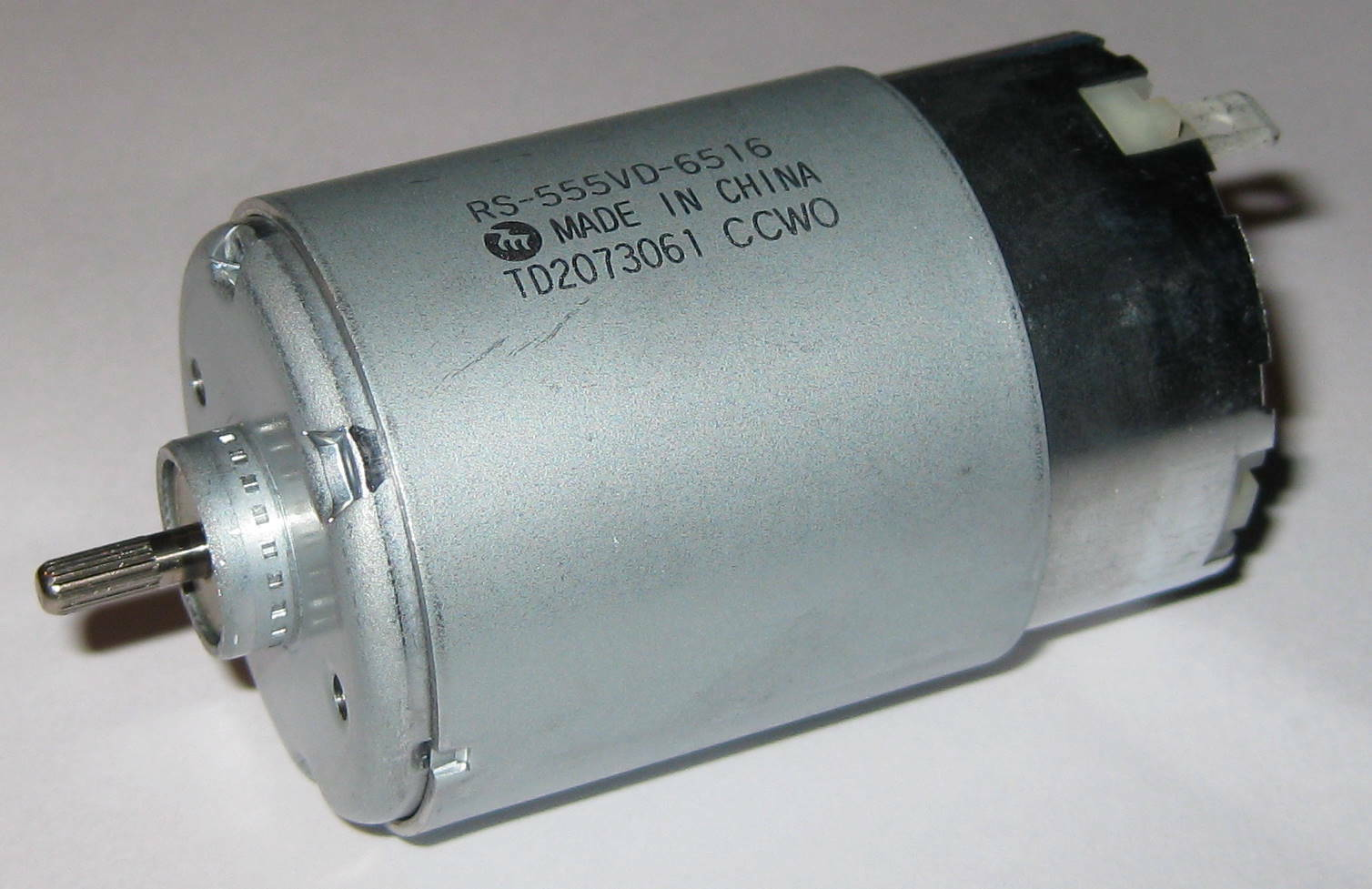 Mabuchi rs 555 vd 12v 13500 rpm high torque motor for 12v motors high torque