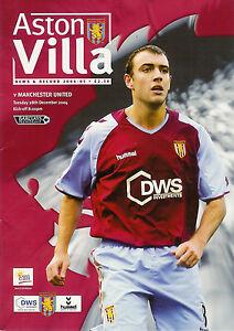 ASTON-VILLA-v-MANCHESTER-UNITED-28-Dec-2004-FOOTBALL-PROGRAMME