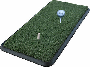 FRB1632-16-034-x32-034-Rubber-Base-Golf-Chipping-Driving-Practice-Mat-Holds-A-Tee