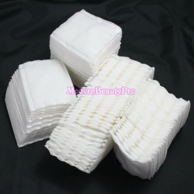 100 PCS Facial Cotton Pads Remover Cleaning for Make-up Nail Art Polish Acrylic
