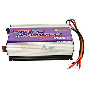 NEW-Stackable-2500W-Power-Inverter-12V-DC-to-110V-AC-WATT-5000W