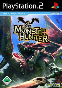 PS2-Monster-Hunter-ROLLENSPIEL-VON-CAPCOM-KOMPLETT-MIT-BESCHREIBUNG