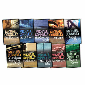 Michael-Connelly-A-Harry-Bosch-Novel-10-Books-Collection-Pack-Set-New