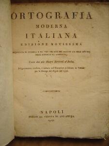 ORTOGRAFIA-MODERNA-ITALIANA-Edizione-Accresciuta-di-7000-e-piu-039-voci-del-maggior