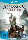 Assassin's Creed III (Nintendo Wii U, 2012, DVD-Box)