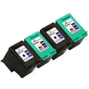 4PK-HP-92-93-Black-amp-Color-Ink-Cartridges-For-PSC-1510v-1510xi-1507-1510