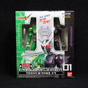 Bandai-Masked-Kamen-rider-W-Double-WFC-01-CYCLONE-JOKER-Action-figure-series