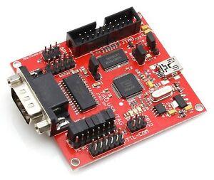USB-to-Serial-UART-I2C-SPI-JTAG-Adapter-FT2232H-12-000-000-baud-buffer-RS232