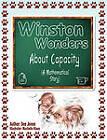 Winston Wonders about Capacity: A Mathematical Story by Dee Jones (Paperback / softback, 2010)