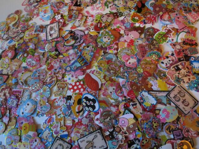 Kawaii Sticker Flakes 100pcs