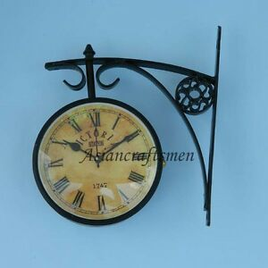 VICTORIA-STATION-1747-RAILWAY-CLOCK-DOUBLE-SIDE-CLOCK