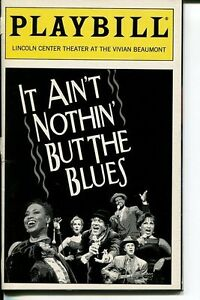 Charles Bevel Carter Calvert Debra Laws It Ain't Nothin' But The Blues Playbill