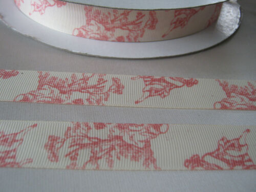 Impression toile 22mm Grosgrain Ruban