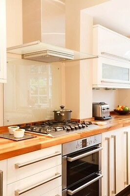 Clear Glass Splashbacks. Choose your own size