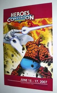 Marvel-Fantastic-Four-Silver-Surfer-Charlotte-Heroes-Convention-Comic-Con-poster