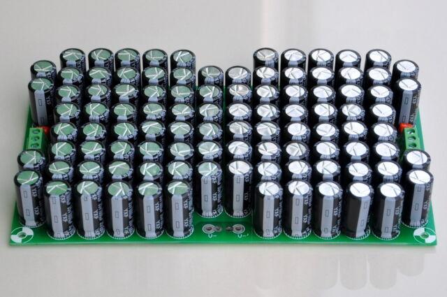 100,000uF RUBYCON Capacitors Module Board, for Upgrade Audio PreAMP or Power AMP