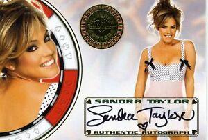 2012-Benchwarmer-Vegas-Baby-SANDRA-TAYLOR-Autograph-Card