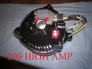 ford bronco mustang one wire 3g black alternator high amp. Black Bedroom Furniture Sets. Home Design Ideas