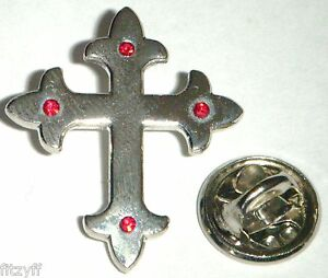 Holy-Cross-Lapel-Cap-Hat-Tie-Pin-Badge-Religious-Christian-GIft-Souvenir-Brooch