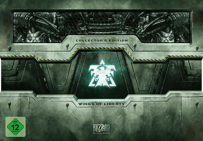 StarCraft II/2: Wings Of Liberty - Collector's Edition - Leerbox / Empty Box