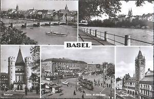 BASEL BASILEA VEDUTE - SVIZZERA - 1964 - Italia - BASEL BASILEA VEDUTE - SVIZZERA - 1964 - Italia
